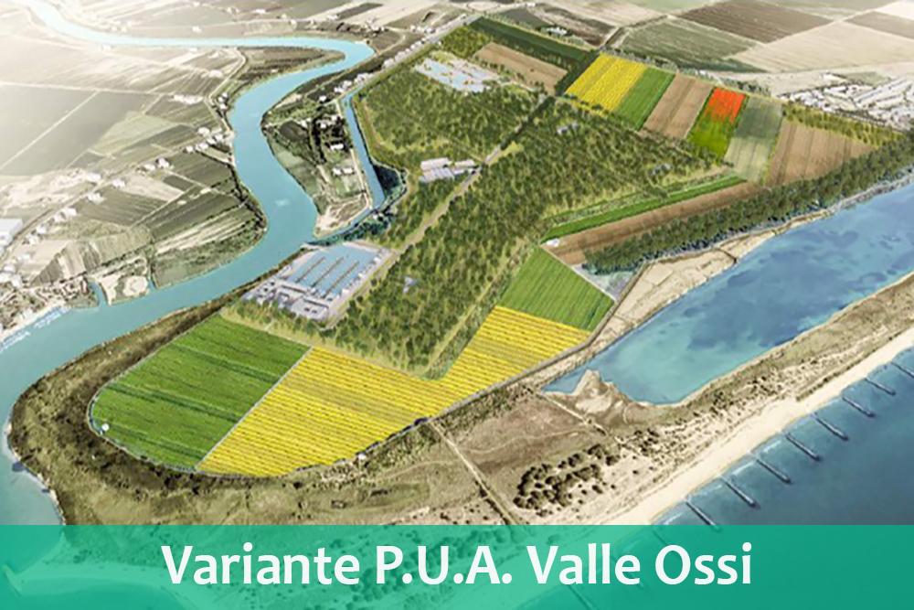 Variante P.U.A. Valle Ossi – Eraclea