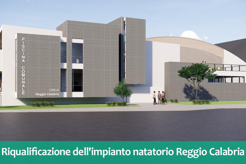 Riqualificazione dell'impianto natatorio di Piazza della Pace a Reggio Calabria